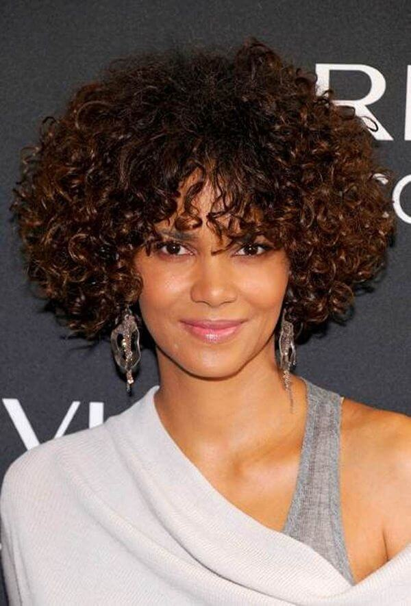 45 Short Haircuts For Black Curly Hair