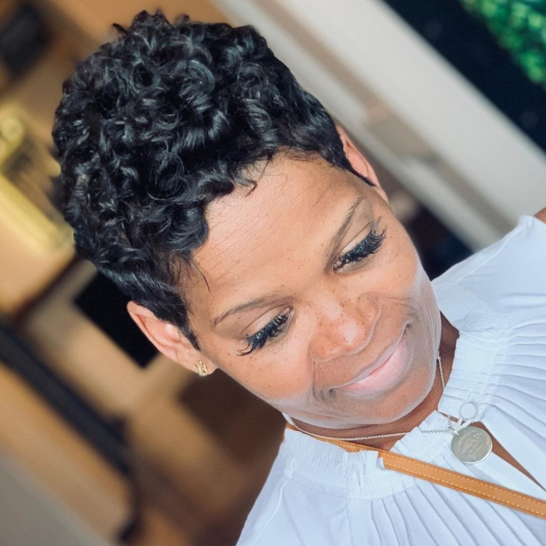 55+ Short Haircuts for Black Women Over 40