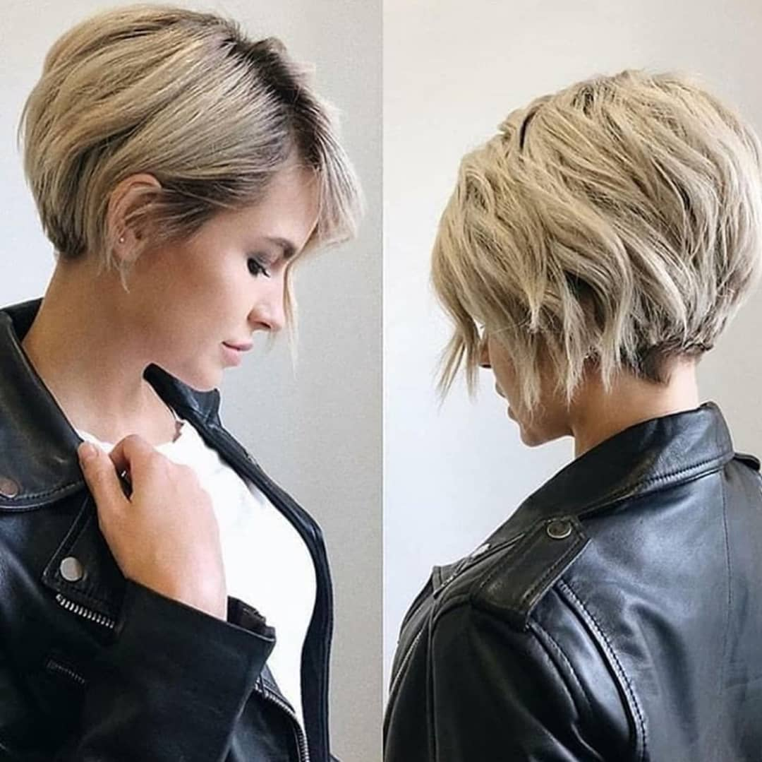 Short Haircuts for Oval Faces and Thin Hair - 10+