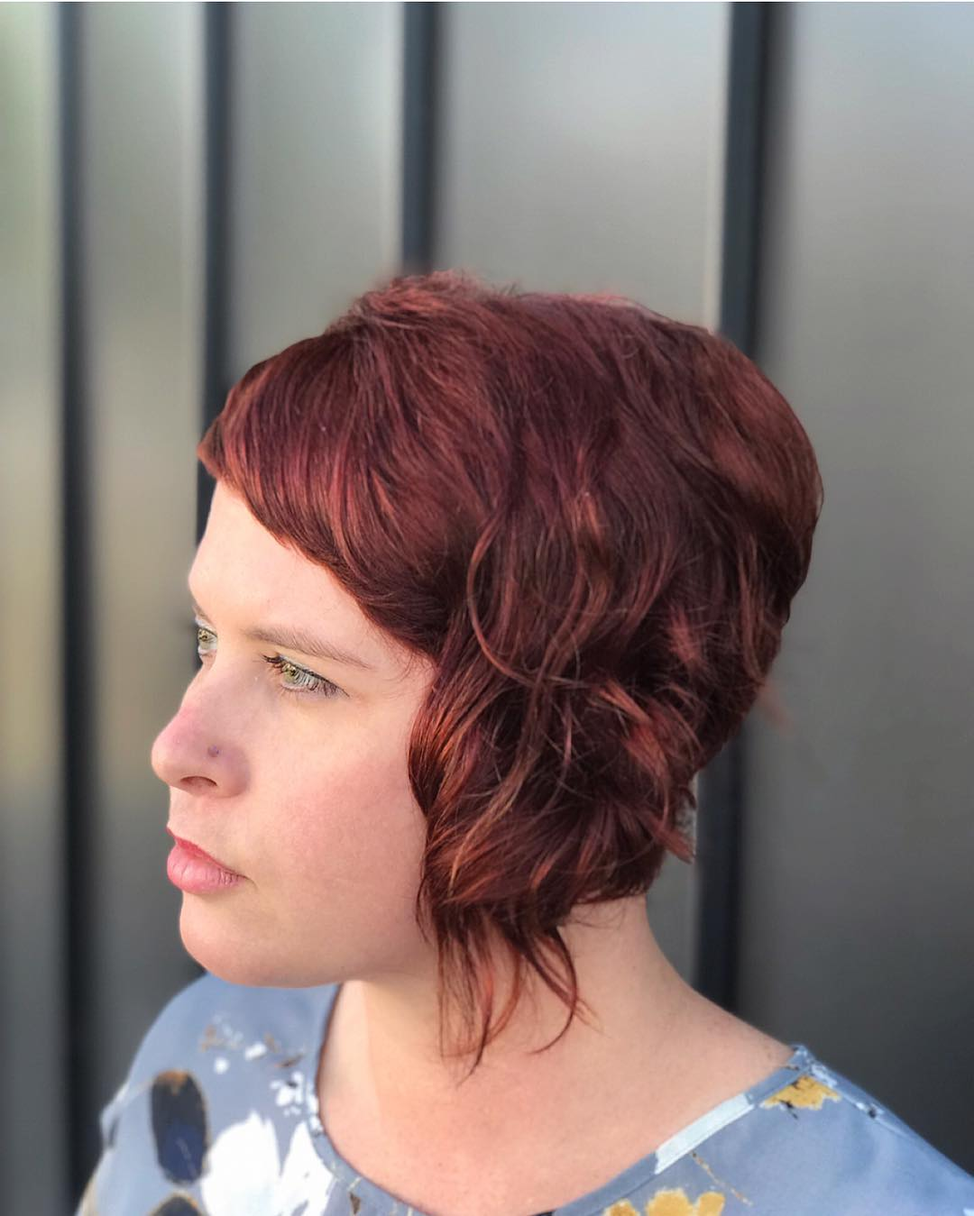 Pixie haircut for square face