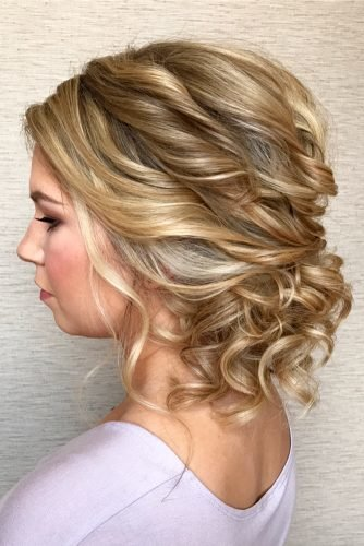 Hairstyles For Short Hair For Wedding Guest 25