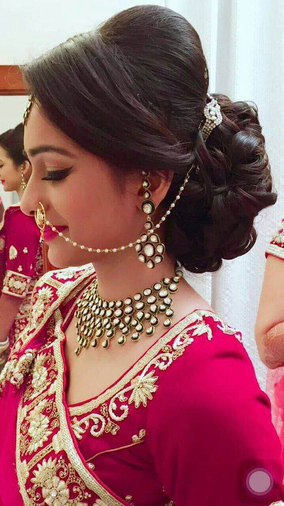 Hairstyles for Short Hair for Indian Wedding - 25+