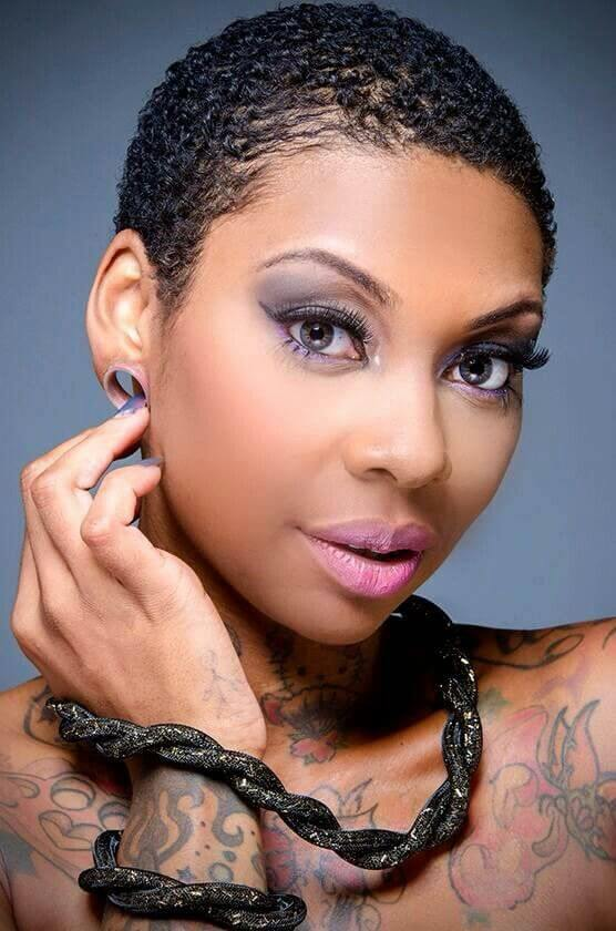 Short Haircuts For Black Women With Natural Hair   50+