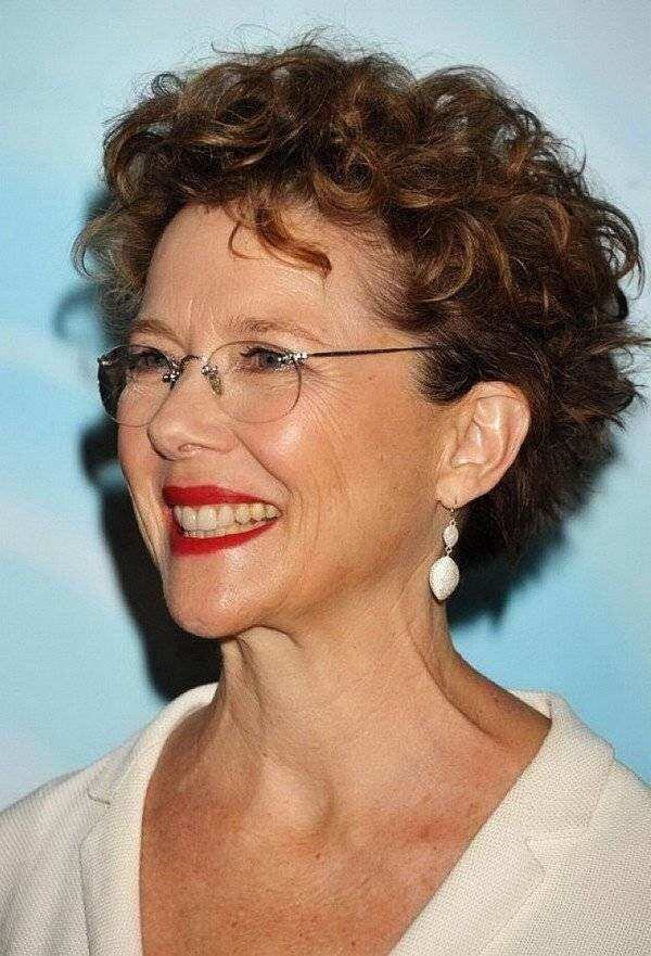 32 Fine Hair Short Hairstyles For Over 50 With Glasses