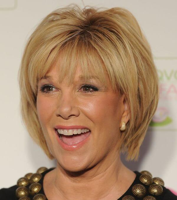 Short Haircuts For Women Over 50 With