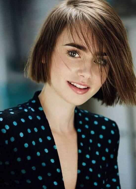 Short Haircuts for Round Faces and Thin Hair - 40+