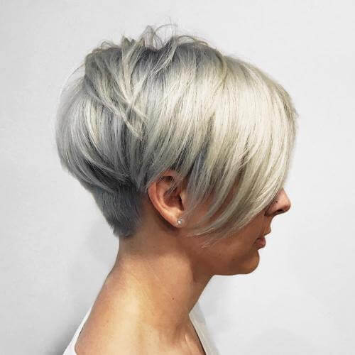 Back View Of Short Hair Cuts 10