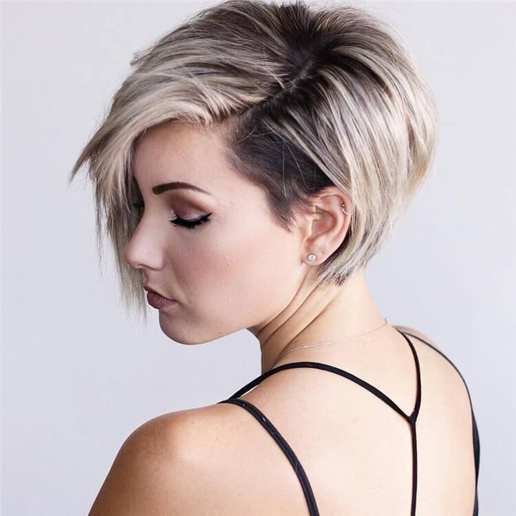 Low Maintenance Short Pixie Cuts For Thick Hair