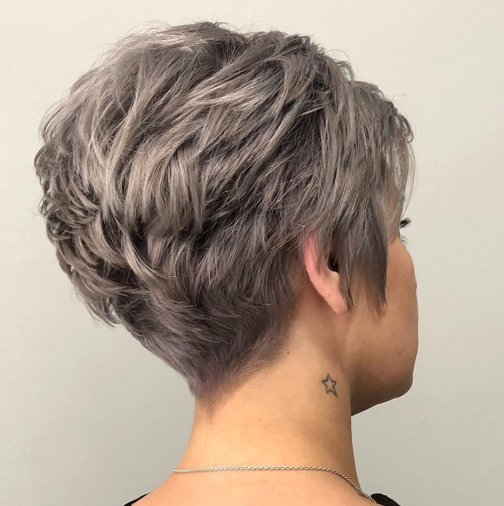 Low Maintenance Short Pixie Cuts For Thick Hair 15
