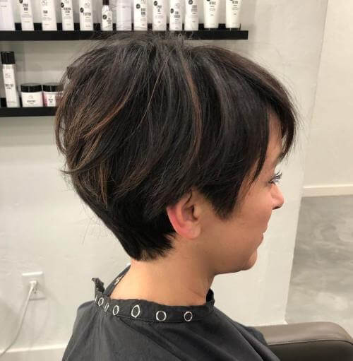 Low Maintenance Short Pixie cuts for Thick Hair - 15+