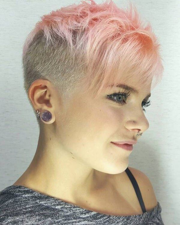 Pixie Haircut With Shaved Sides 20