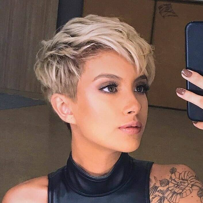 Highlights for Short Pixie cuts - 20+