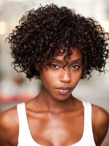 Short Curly Haircuts For Black Woman 20