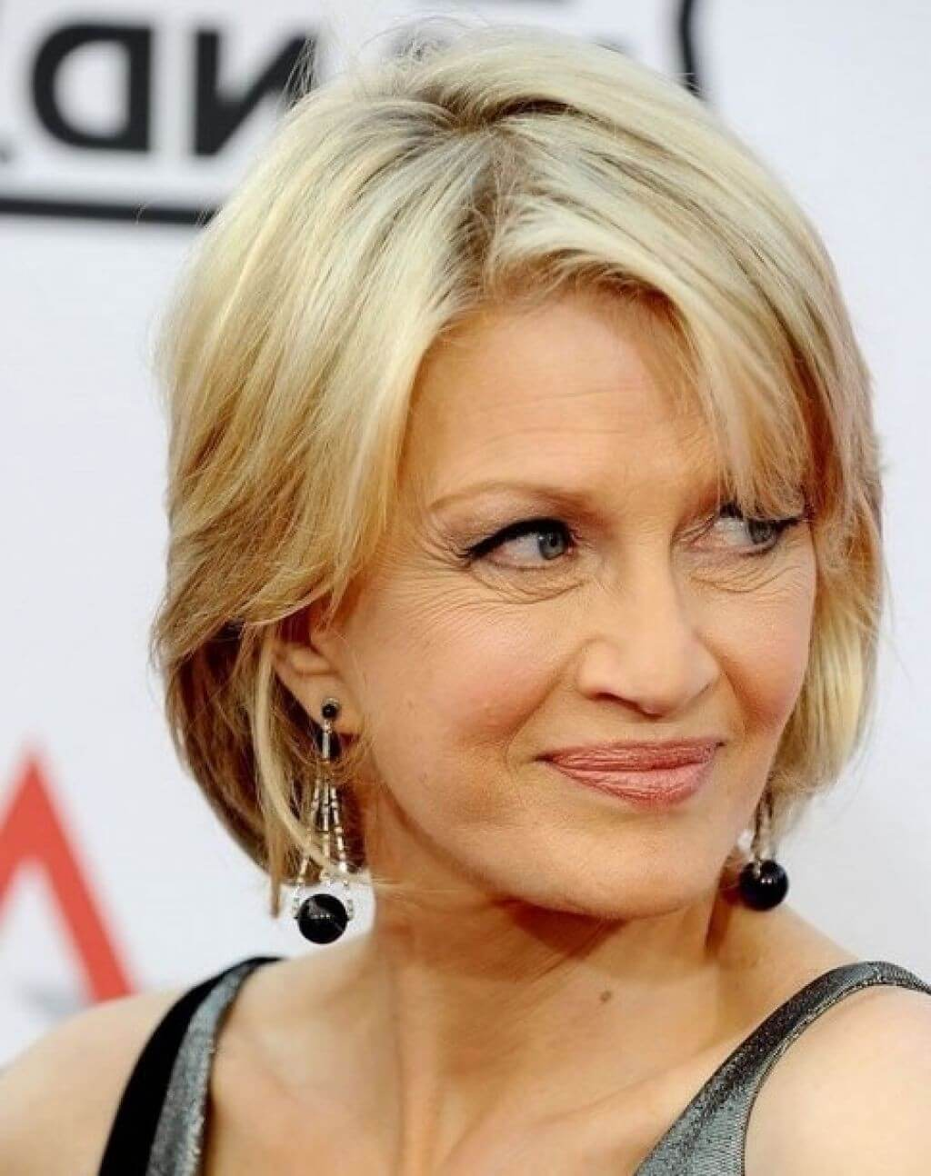 Short haircuts for thin hair over 50
