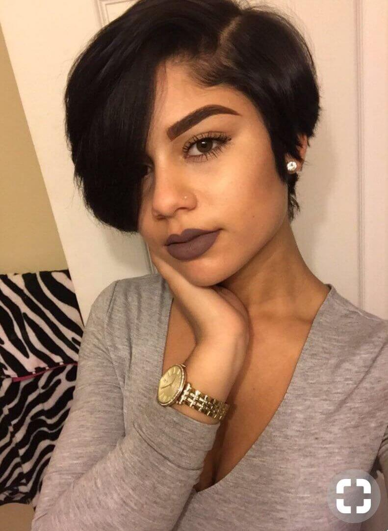 Short Pixie Cuts On Black Woman 25