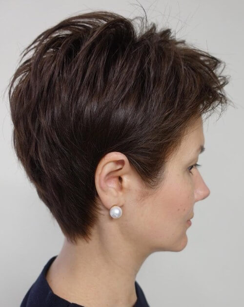 Short Pixie Haircuts For Thick Hair 15