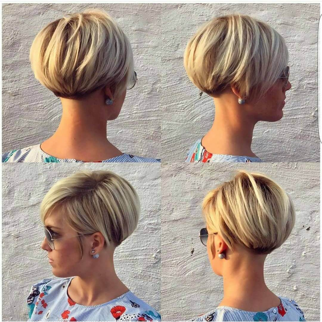 Short Pixie Haircuts Front and Back View - 10+