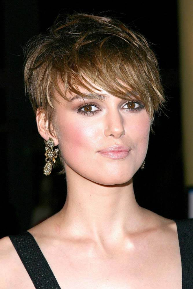 Short Pixie Haircuts With Long Bangs - 25+