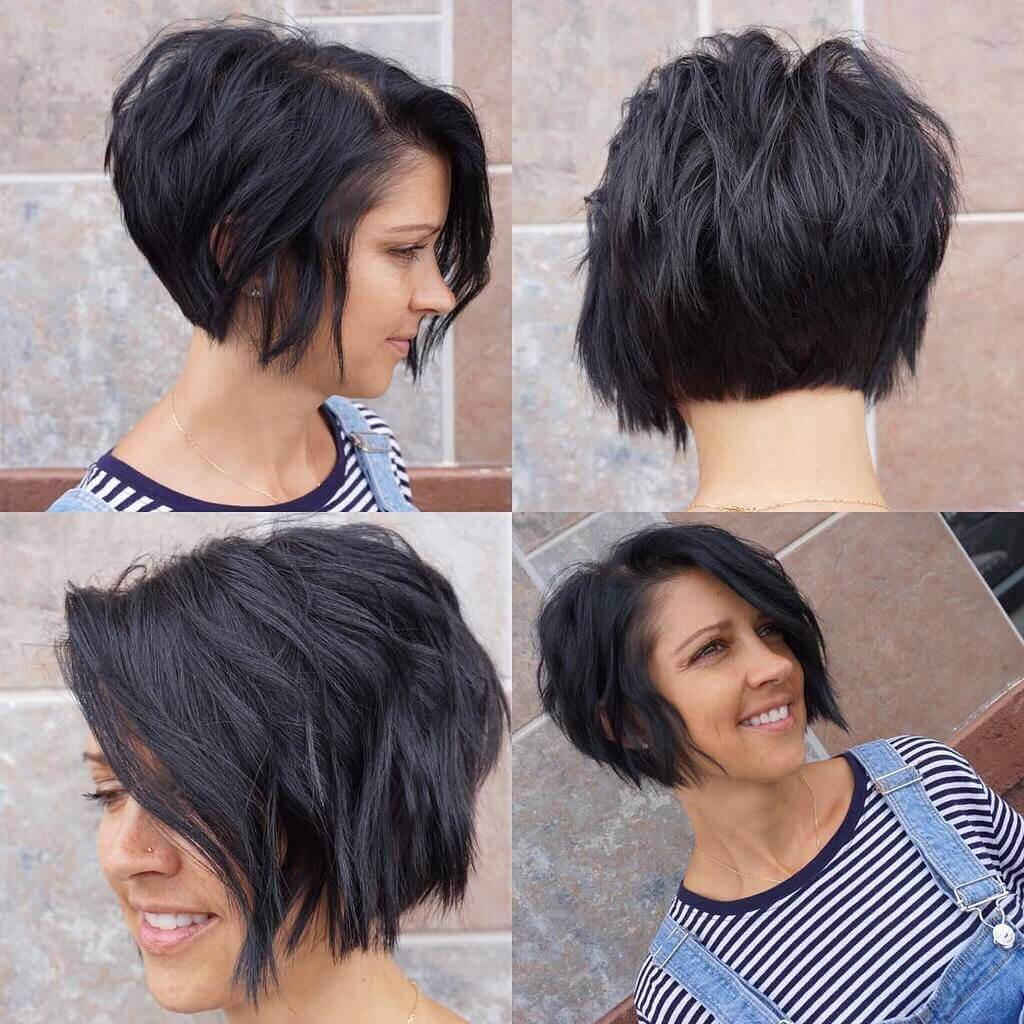 Short Haircuts For Black Women Back View 10