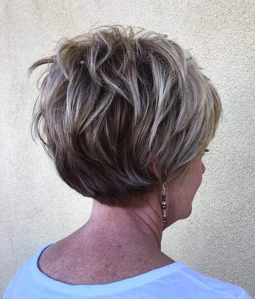 Short Haircuts For Women Over 60 With Fine Hair 10