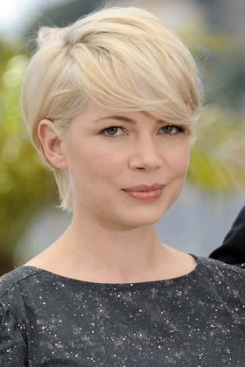 Short Pixie cuts for Round Fat Faces - 25+