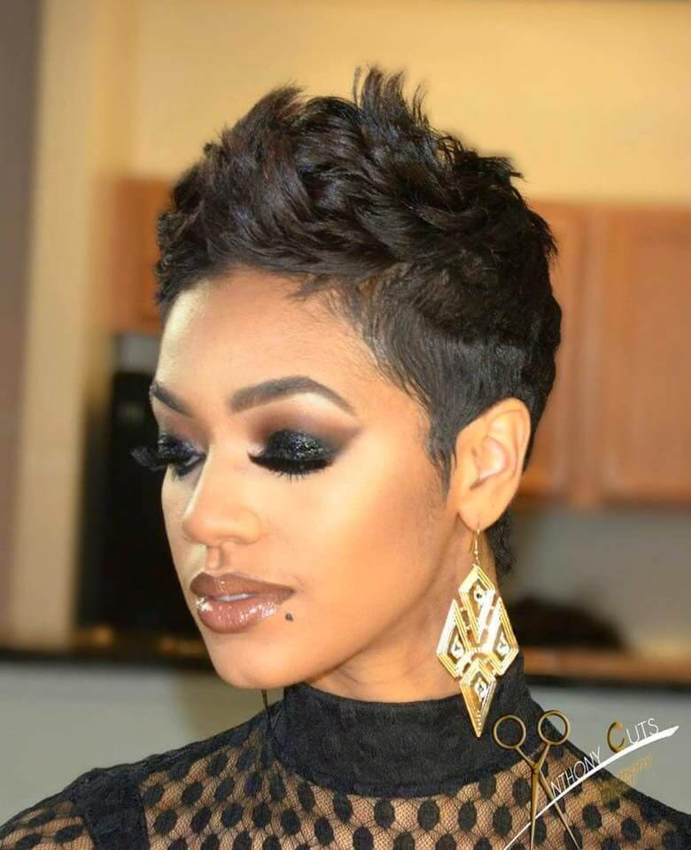 Short Pixie Haircuts for African American Hair - 20+