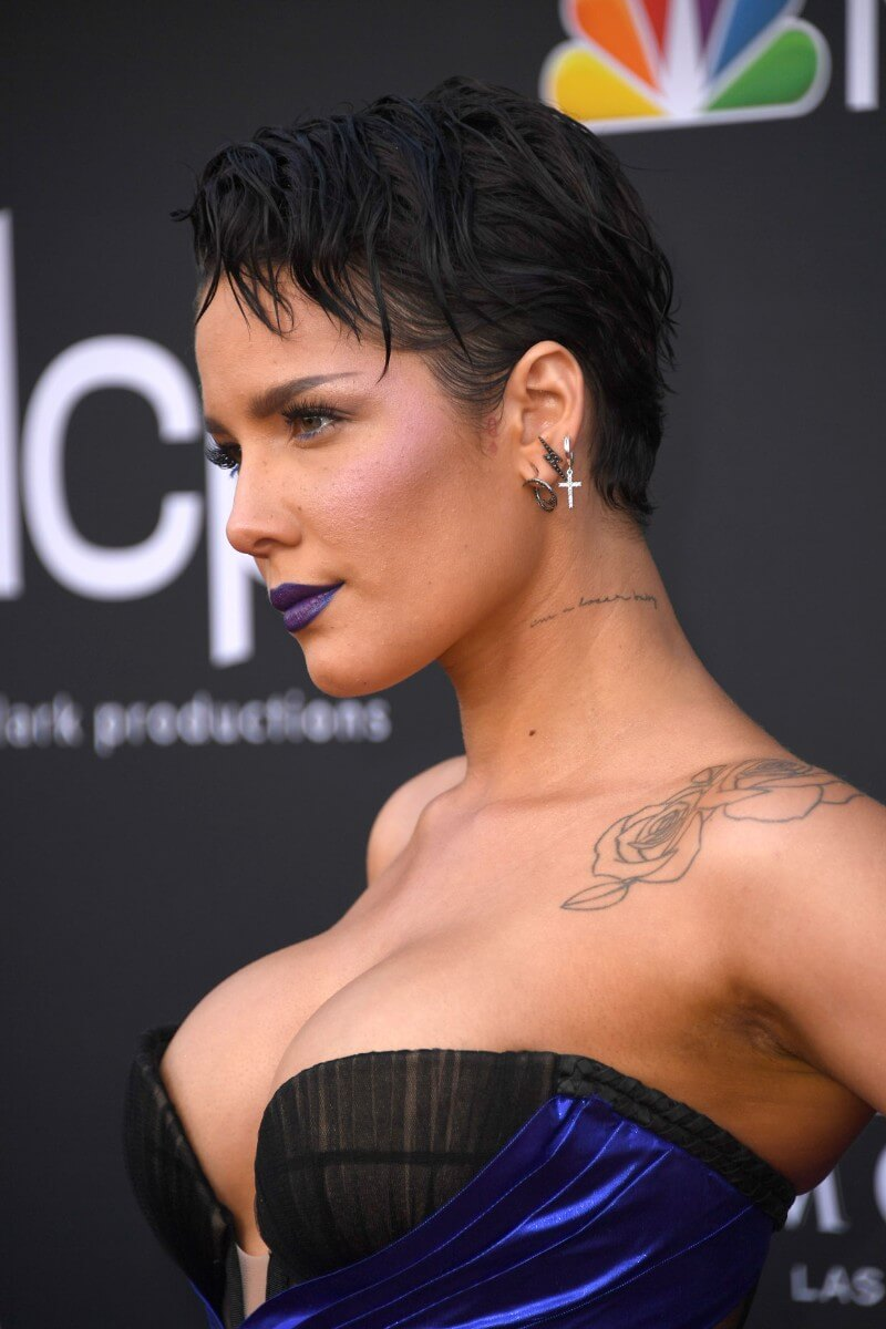 Halsey S Short Hairstyles And Haircuts 20
