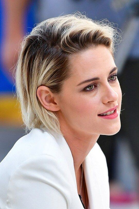 Kristen Stewart S Short Hairstyles And Haircuts 30