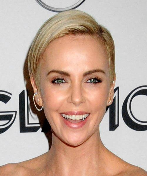 Charlize Theron S Short Hairstyles And Haircuts 20