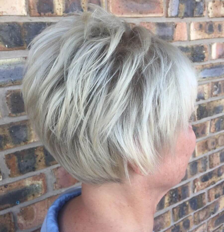 Short Haircuts for Ladies With Grey Hair - 15+