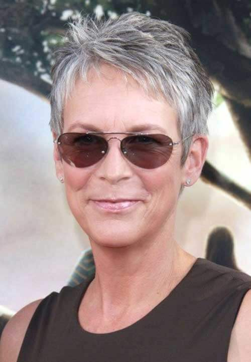 very short pixie cuts for older woman  10