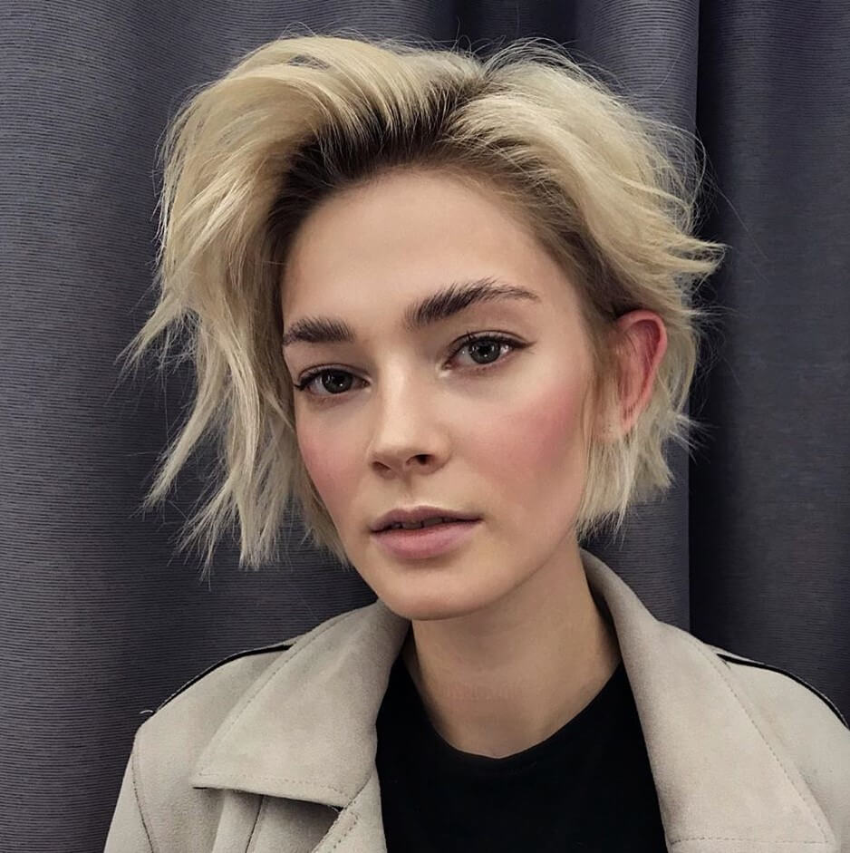 Short Haircuts For Oval Faces 2020 2021 30