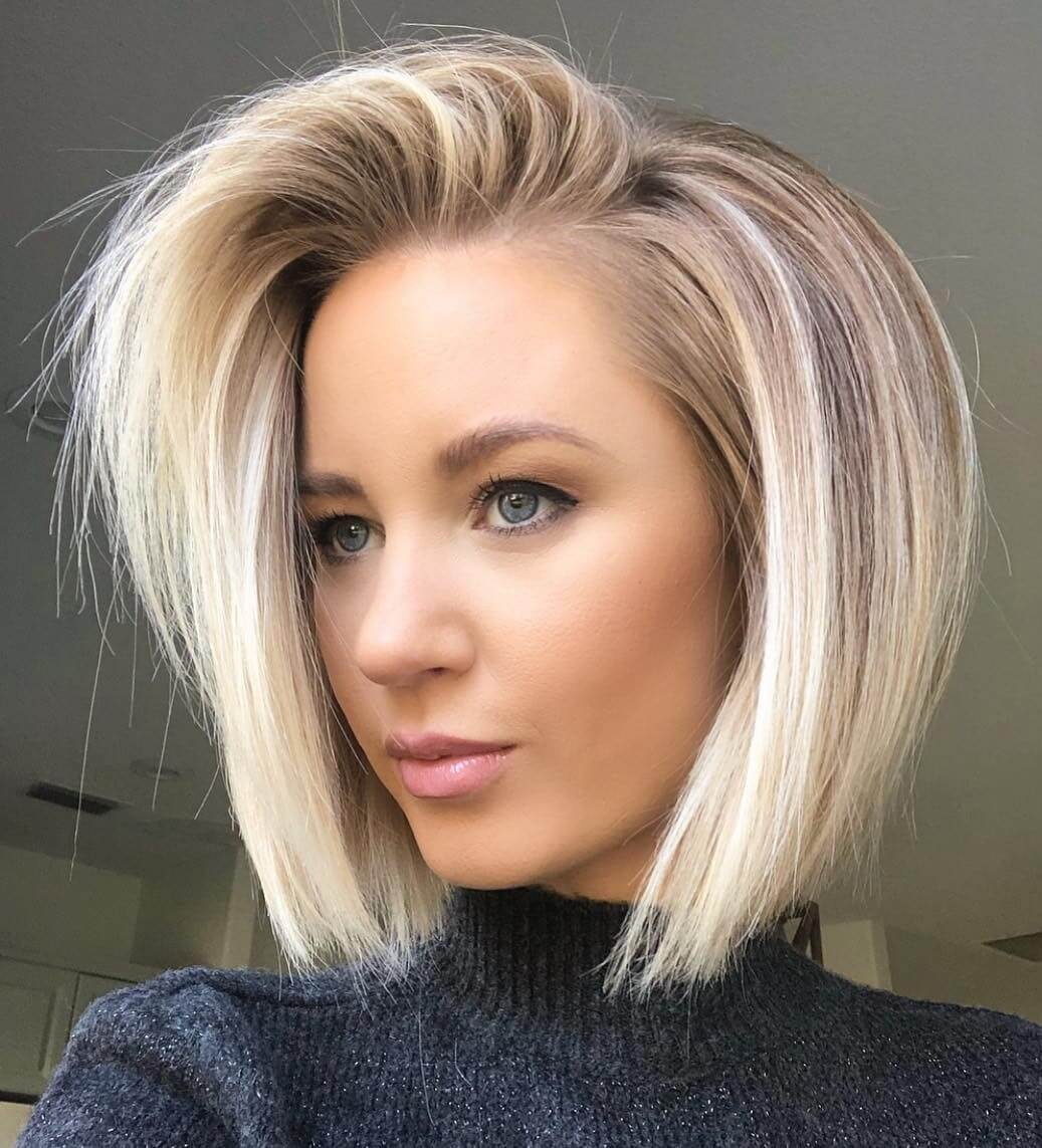 Short Haircuts for Oval Faces 2020 - 2021 - 30+