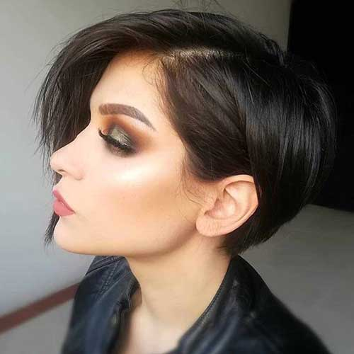 admire wedge hairstyles that should try in 2021 10