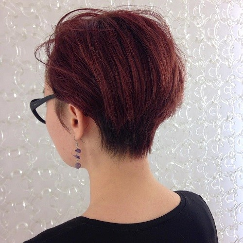 admire wedge hairstyles that should try in 2021 14