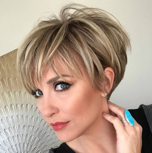 admire wedge hairstyles that should try in 2021 18