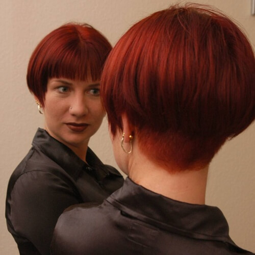 admire wedge hairstyles that should try in 2021 28