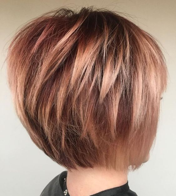 admire wedge hairstyles that should try in 2021 7