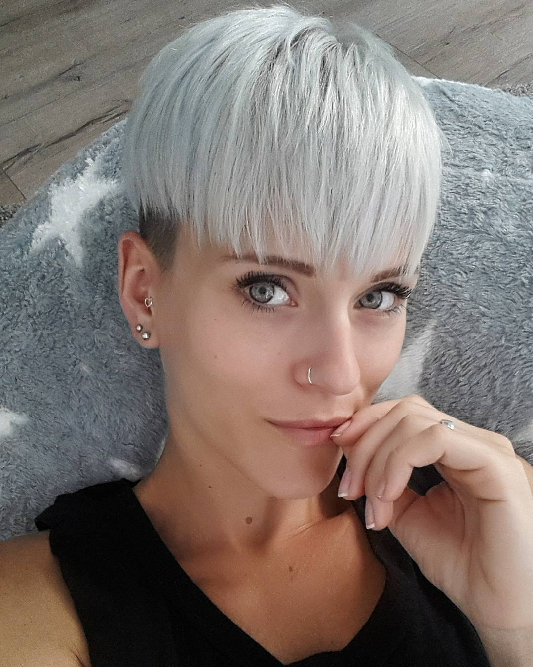 best trendy short hairstyles for fine hair best advices 11