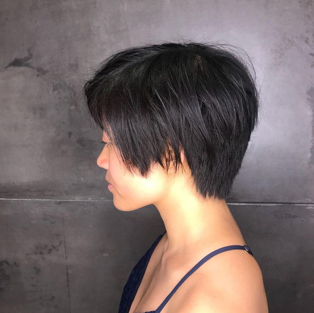 best trendy short hairstyles for fine hair best advices 19