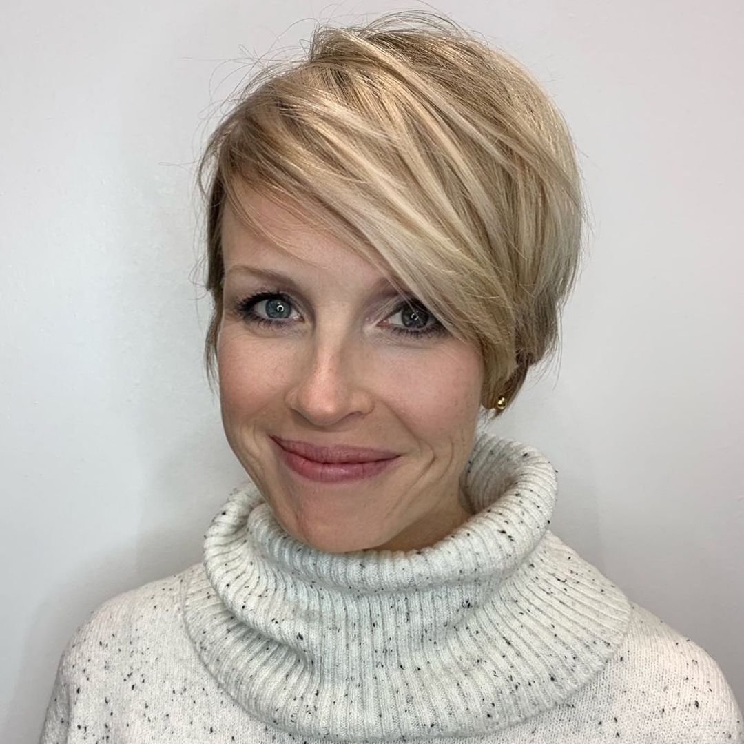 best trendy short hairstyles for fine hair best advices 6