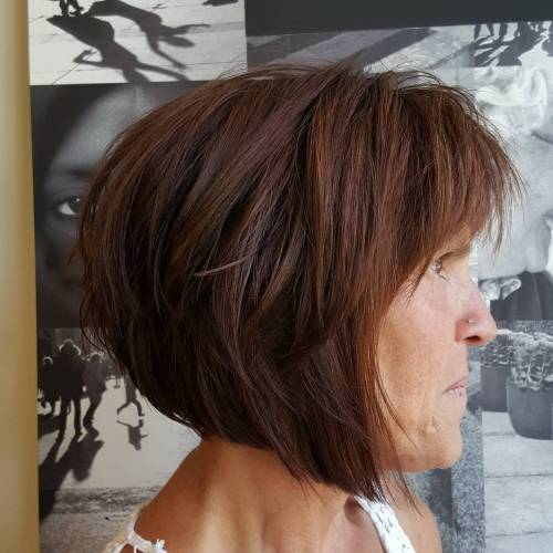 chic short hairstyles for plus size over 50 best ones 2 25