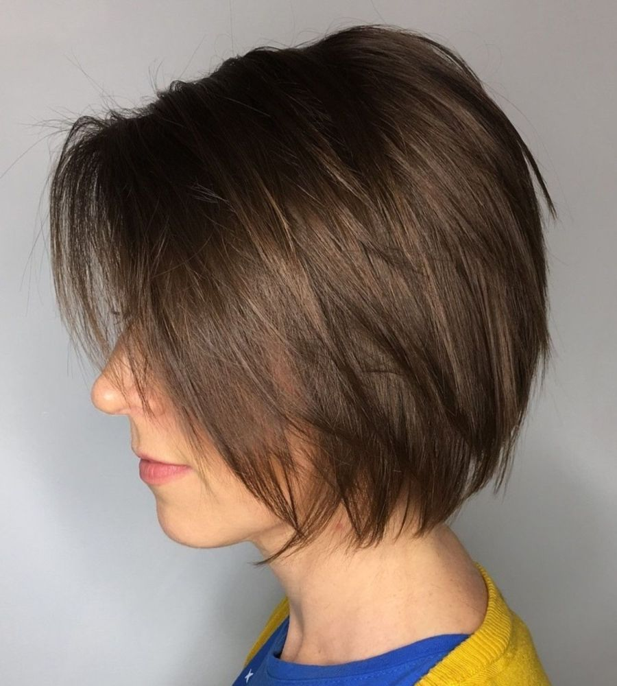 haircuts for thin hair to look thicker 28