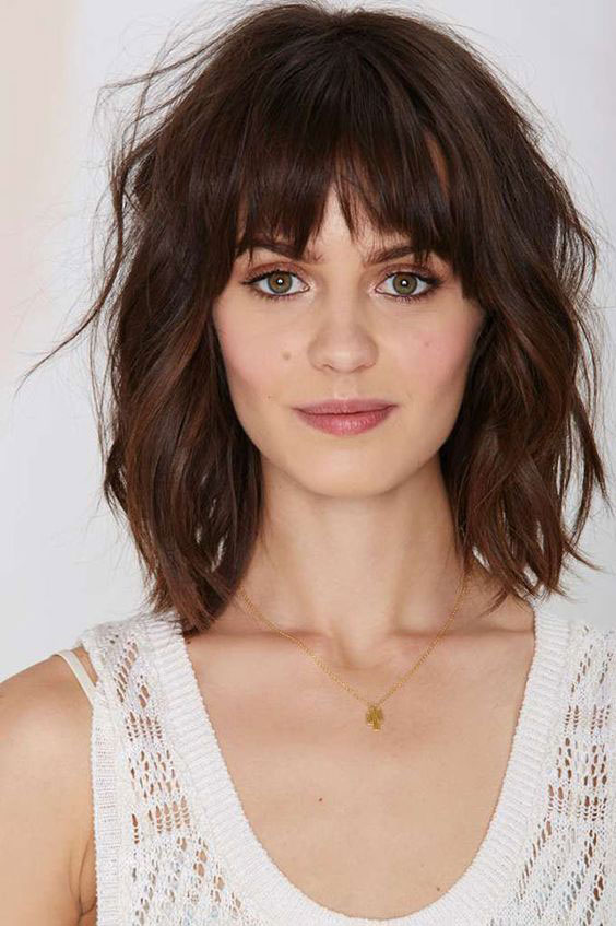 haircuts for thin hair to look thicker 6