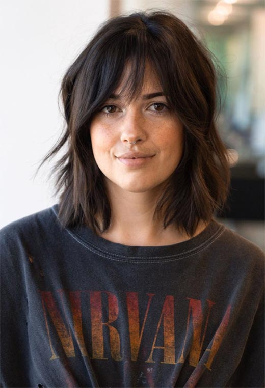 haircuts for thin hair to look thicker 7