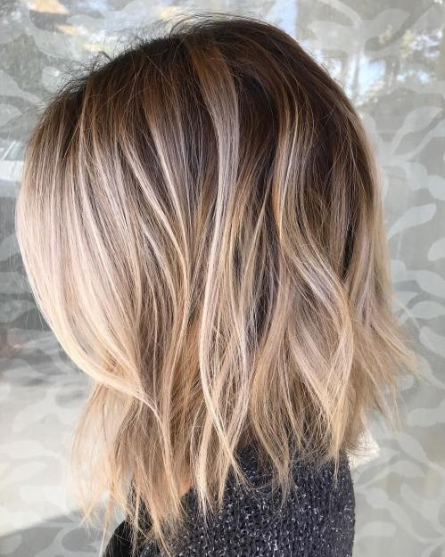 haircuts for thin hair to look thicker 9
