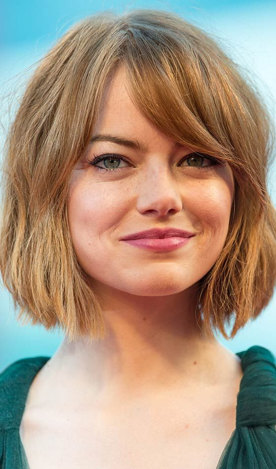 latest layered short haircuts for round faces 2021 13