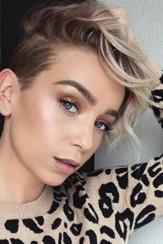layered short hairstyles that can be preferred for date nights 1