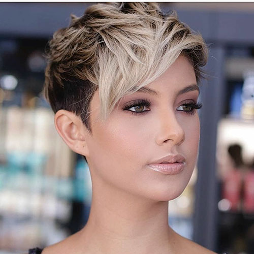 layered short hairstyles that can be preferred for date nights 10