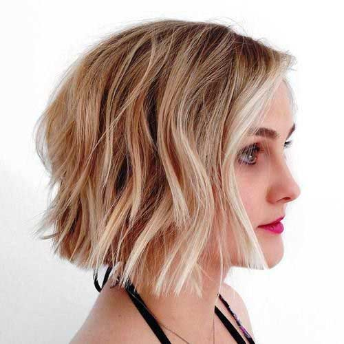 layered short hairstyles that can be preferred for date nights 15